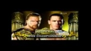 Triple H vs. John Cena - Wrestlemania 22 & Night Of Champions 2008 - Svr2009 Highlight Reel