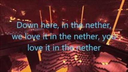 Screw the Nether Lyrics (moves Like Jagger Parody)