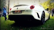 Ferrari 599 Gto Loud Revs & Accelerations!! - 1080p Hd