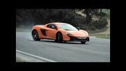 Mclaren 650s: Track Driving, Sliding & Tech Interview - Chris Harris On Cars