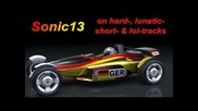 Sonic on Hard and Lunatic Trackmania Tracks - part2