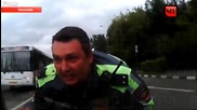 Cop taken for the ride of his life and the guilty driver captured it all on his own dash cam