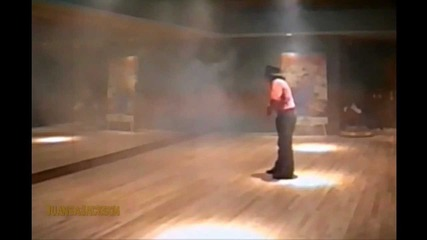 Michael Jackson - Showing his talent - Rehearsal