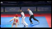 Puebla World Taekwondo Championships 2013 - Final 58 kg - Kor vs Iri