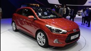 2016, Hyundai i20 Coupé, Exterior and Interior, 2015 Geneva Motor Show