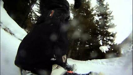 Сноуборд на Боровец и луди дечица