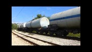 Товарен влак с локомотиви 45 165 и 44 093