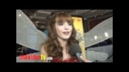 "Bella Thorne Interview at ""megamind"""