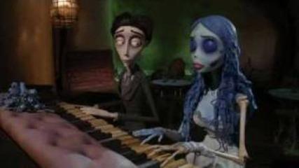 Булката труп - пиано дует