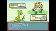 Pokemon Ruby Destiny-catching Regigigas