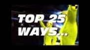 Wwe Smackdown vs Raw 2011: 25 Way to use the Steps!