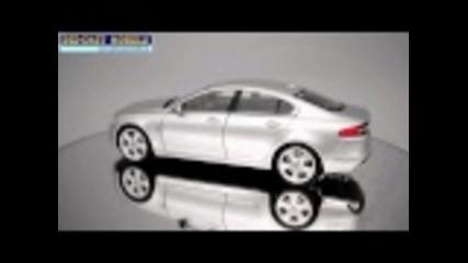 Welly Jaguar Xf Silver Hd logo