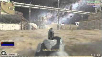 Call of Duty 4 Zombies #1 The Zombies Attack