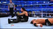 Wrestlemania 27 Highlights - No Holds Barred The Undertaker vs Triple H Part 2