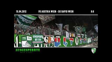 15.04.12 Ultras Rapid Wien - Derby