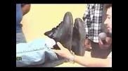 изцерение на крак,който е по- къс със 13 см