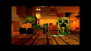 Mob Saloon in Minecraft Animation Cool