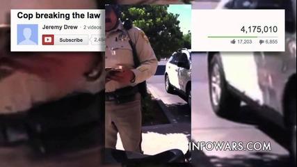 12 годишно момче поставя полицай на мястото му!