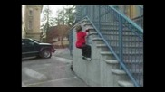 6 yr old parkour - Keagan Gransbery