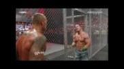 Wwe Raw - John Cena vs Randy Orton-джон Сина срещу Ренди Ортън