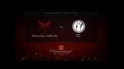 Minesky.infinity vs ig - Dota 2 The International
