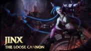 League of Legends - Jinx Champion Spotlight