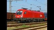 Международен товарен влак с Es64u2 ( 1116 026 ) Taurus