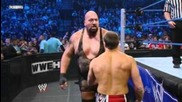 the Big Show vs Daniel Bryan for the World Heavyweight title - Friday Night Smackdown
