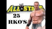 Wwe All Stars: 25 Ways to use the Rko Ft. Randy Orton