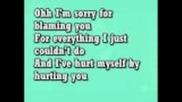 christina aguiera-hurt (lyrick)