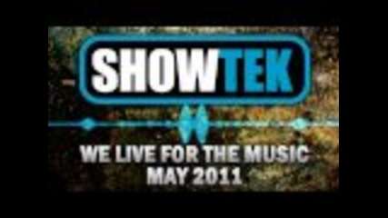 Showtek Podcast - We Live For The Music - May 2011