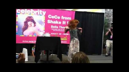 Bella Thorne Cece at the South Hill mall Puyallup, Wa