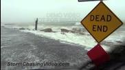 Буря по крайбрежието, големи вълни, силен вятър, наводнение и прилив 6.6.2013 (тропиците)