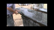Two more cement countertops