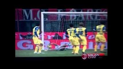 Милан 1:0 Киево - Гол на Тиаго Силва