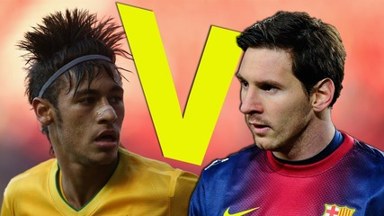 Messi v Neymar 2013   Barcelona Showdown l