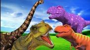 Dinosaurs Finger Family
