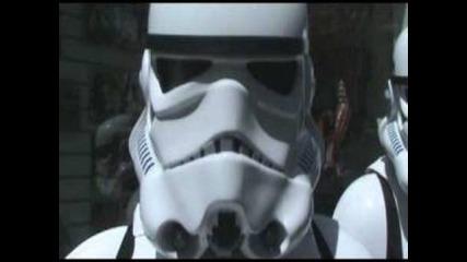 Star Wars танцуват и пеят с Deep Zone в Лондон