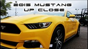 2015 Mustang Best Up Close Walkaround 2.3l Turbocharged Ecoboost