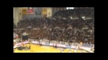 Paok-aris basketball Paok Fans Sing !