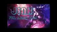 League of Legends | Jinx Adc - Full Ranked Game - Platinum Ii