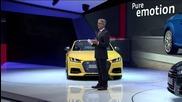 Audi Press Conference Paris Autosalon 2014 - New Audi Tt Sportback concept