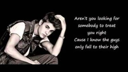 Justin Bieber - Make You Believe ^^ Lyrics on screen (audio)