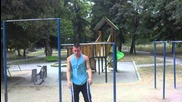 Street Workout. Georgi Dimitrow