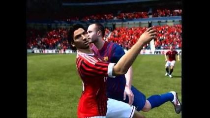 Fifa 12 Fail - Iniesta Gay!? =)