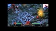 Lara Croft and The Guardian Of Light - Dinosaur Boss Battle