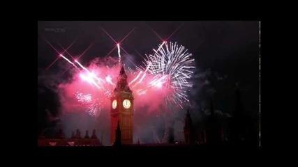 Лондон фоерверки 2012