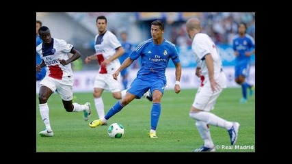 Cristiano Ronaldo Vs Psg Away Hd 720p (27/07/2013)