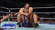 Big E vs. Rusev: Smackdown, August 8, 2014