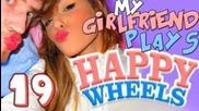 My Girlfriend Plays: Happy Wheels - Part 19